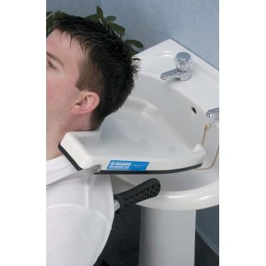 Plateau-bac à shampoing pour lavabo