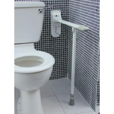 Barre d'appui de toilette relevable
