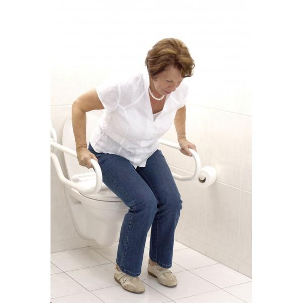 rail d 39 appui de toilette pour personnes g es et personnes handicap es barre d 39 appui de. Black Bedroom Furniture Sets. Home Design Ideas