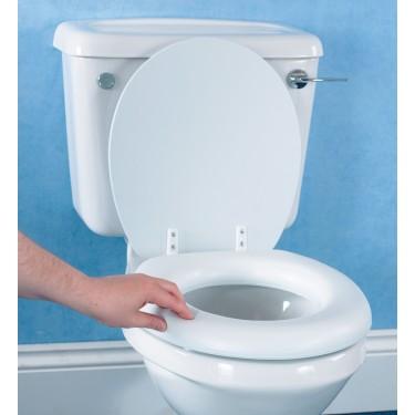 Rehausseur de toilettes doux
