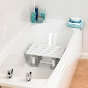 Siège de baignoire à ventouses