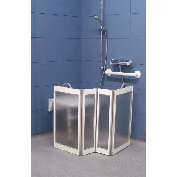ecran de douche pour personnes g es et personnes handicap es accessoires de bain pour seniors. Black Bedroom Furniture Sets. Home Design Ideas