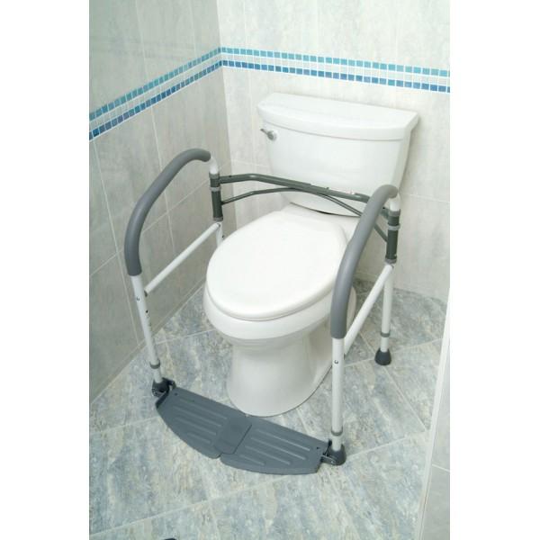 Cadre de toilettes repliable