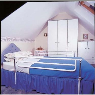 Barrière de lit dévérouillable