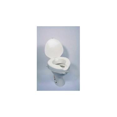 Rehausseur de toilettes avec abattant