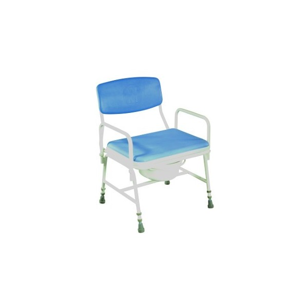 Chaise de douche et chaise percée Confort XXL