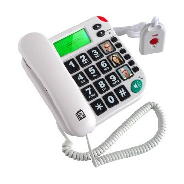 Téléphone avec télécommande...