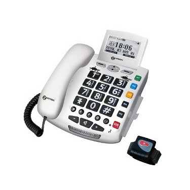 Téléphone Appels Urgence Geemarc