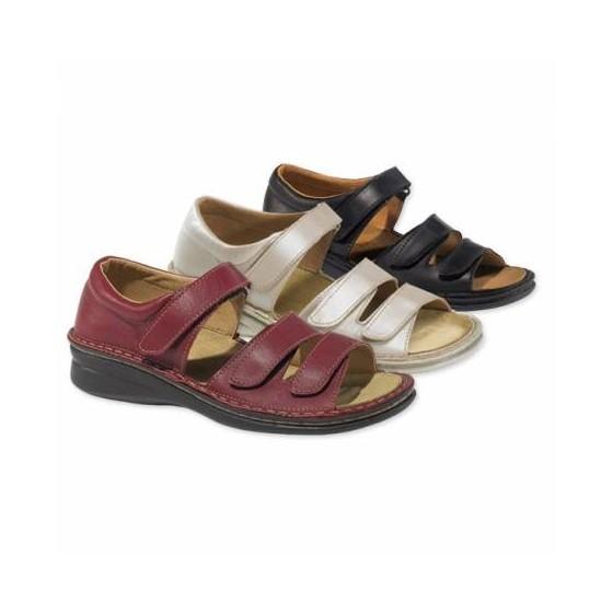 Sandales Adour Alpha trois coloris unis