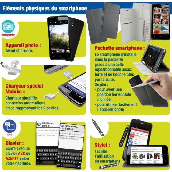 LE SMART ORIGINE - Smartphone senior
