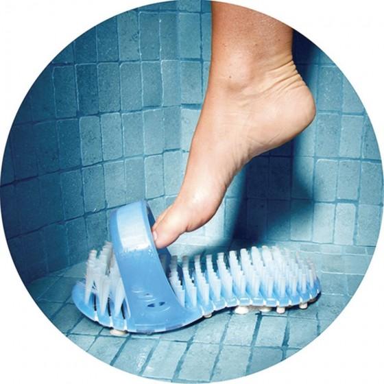brosse pour pieds - sandale de douche