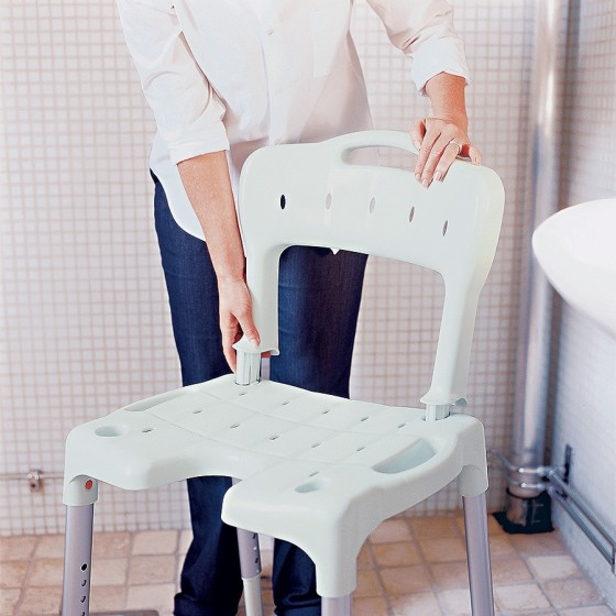 Chaise de douche Swift modulable