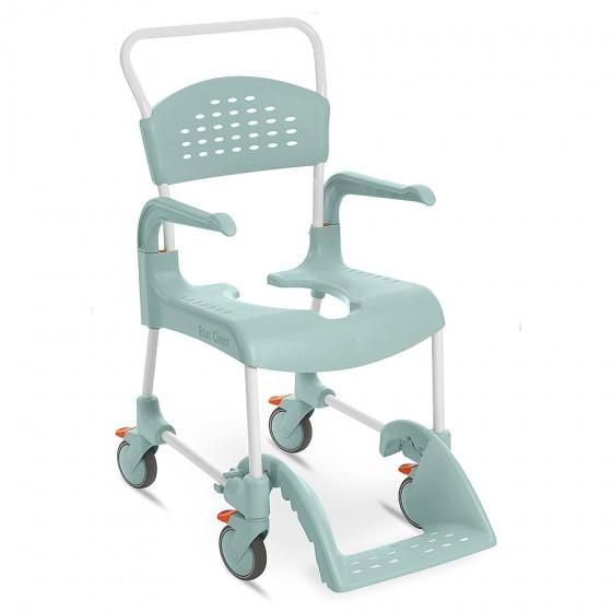 Chaise de douche Clean à roulette