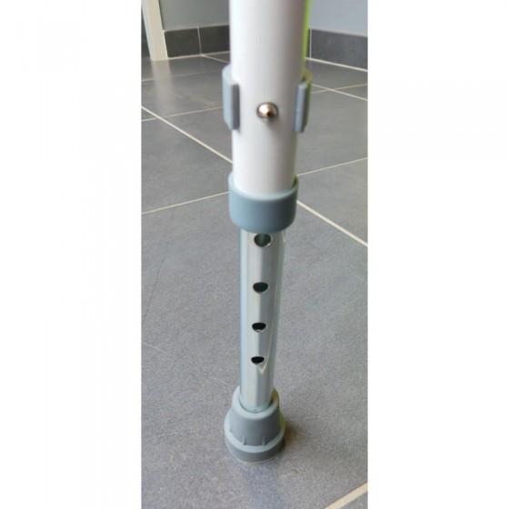 Chaise de douche englobante réglable en hauteur