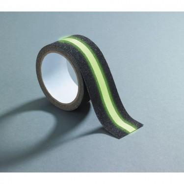 Rouleau antidérapant et fluorescent