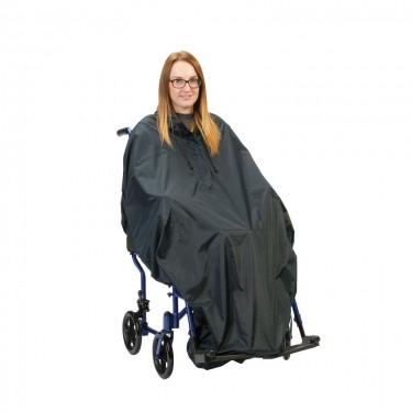 Cape de pluie pour fauteuil économique