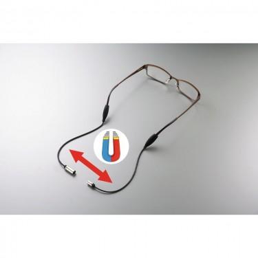 Cordon de lunettes magnétique
