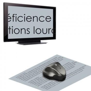Loupe électronique PC et TV