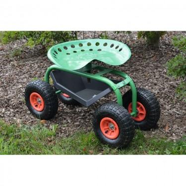 Siège de jardin sur roues