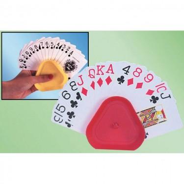 Support de cartes à jouer triangle