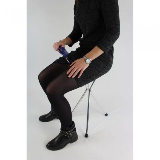 Canne-siège pliable