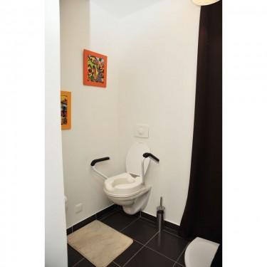 Rehausse toilettes avec accoudoirs Simplex