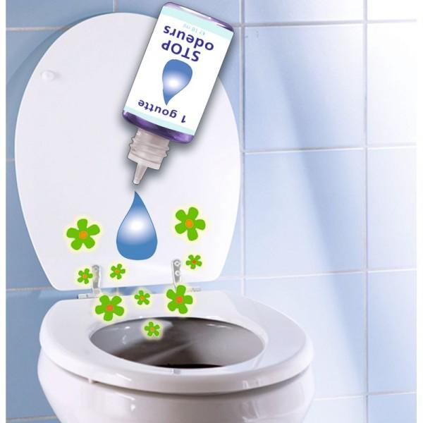 Désodorisant de toilettes