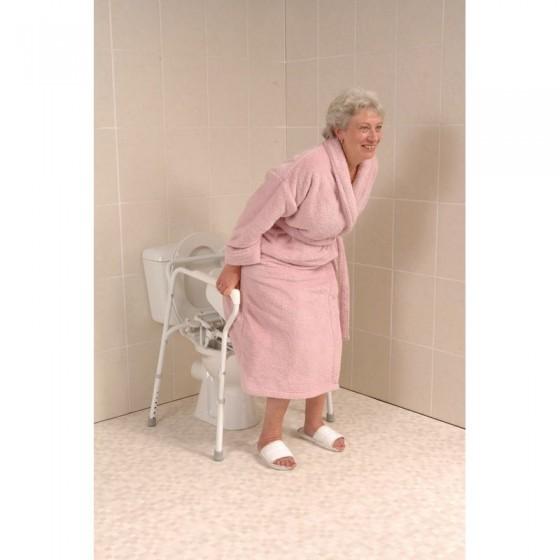 Siège releveur de toilettes