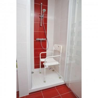 Chaise de douche pliable Tobago