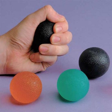 Balle en gel pour exercices de  la main