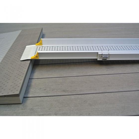 Rampes d'accès télescopiques