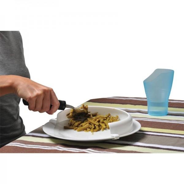 Rebord d'assiette