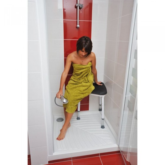 Tabouret de coin de douche