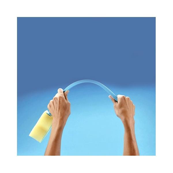 Eponge à long manche flexible