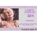 Carte cadeau coquine Plaisir senior