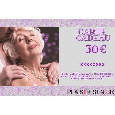 Carte cadeau coquine 30€