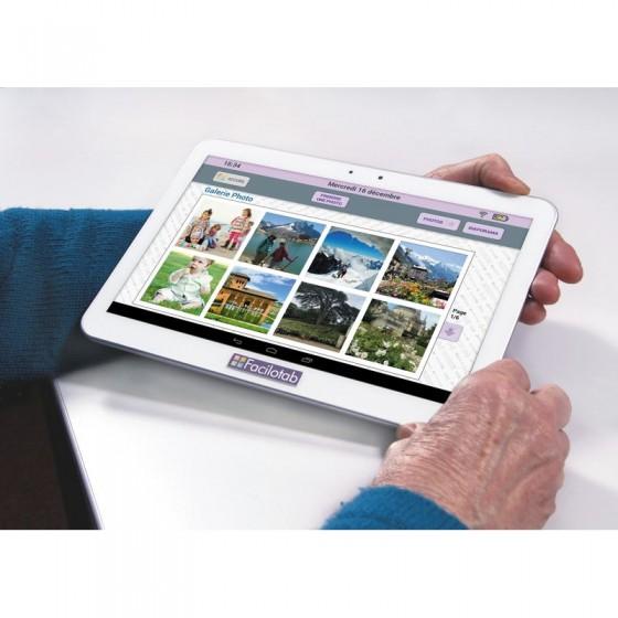 Tablette tactile Facilotab pour senior