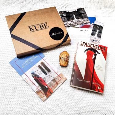 Box lecture personnalisée - KUBE MAJUSCULE
