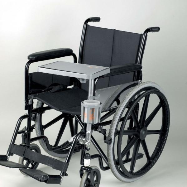 tablette pour fauteuil roulant pour personnes g es et personnes handicap es accessoires pour. Black Bedroom Furniture Sets. Home Design Ideas