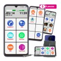 Le Smart Initial 6 pouces - téléphone senior