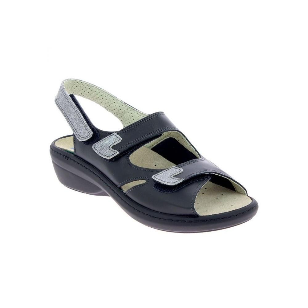 Sandale Damia noir Podowell