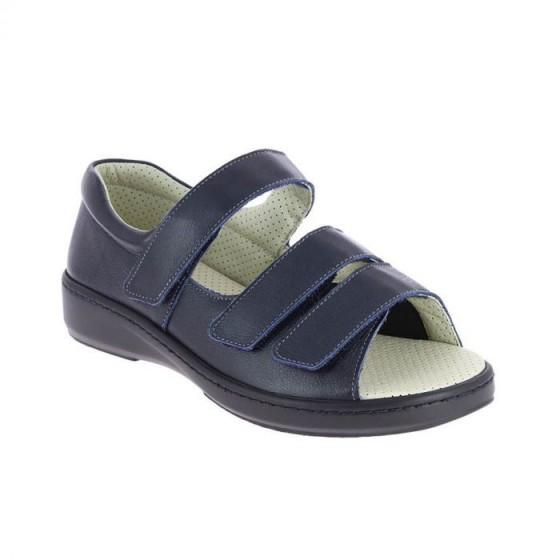 Sandale en cuir Alban marine