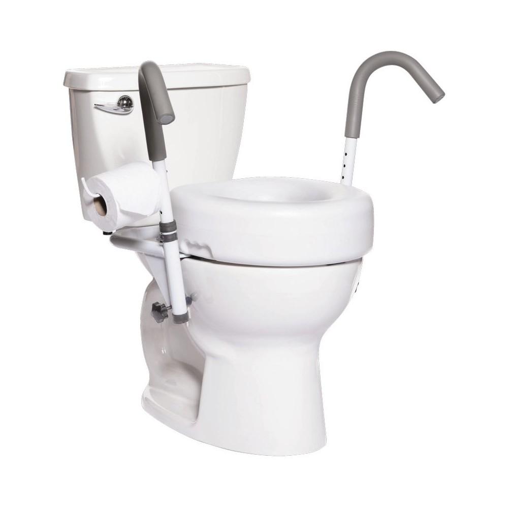Accoudoirs de toilettes suspendus Malte