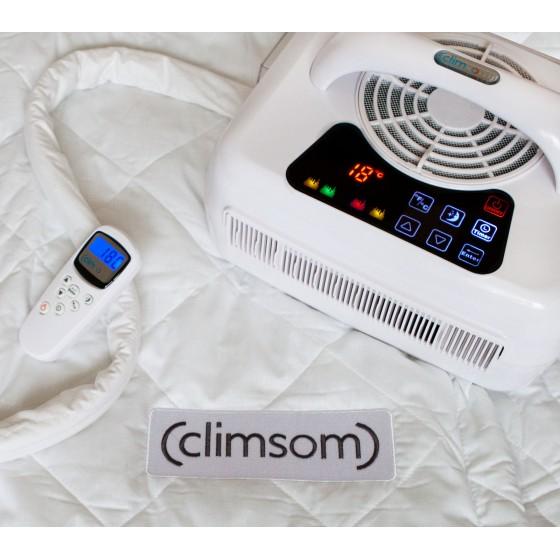 Sur-matelas climatisés duo Climsom ( 2 personnes 2 sur-matelas)
