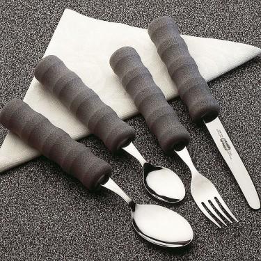 Fourchette légère avec manche en mousse